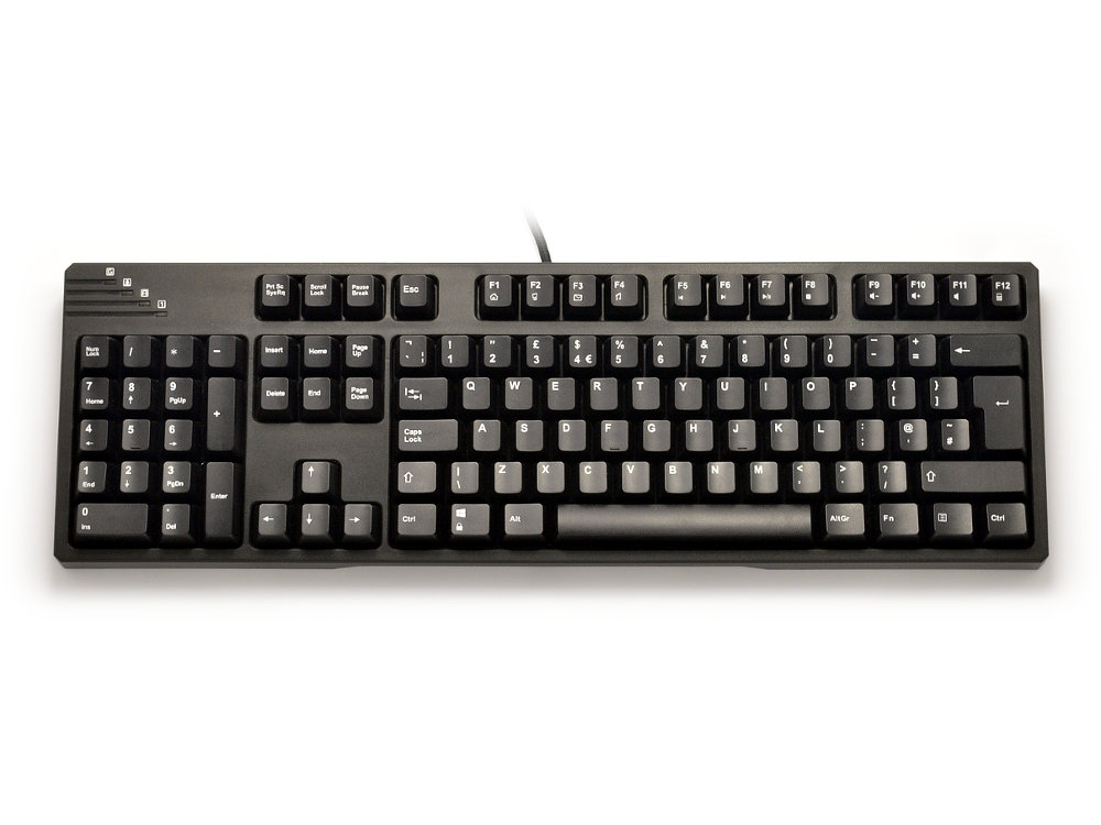 Black Left-Handed Mechanical Keyboard, picture 1