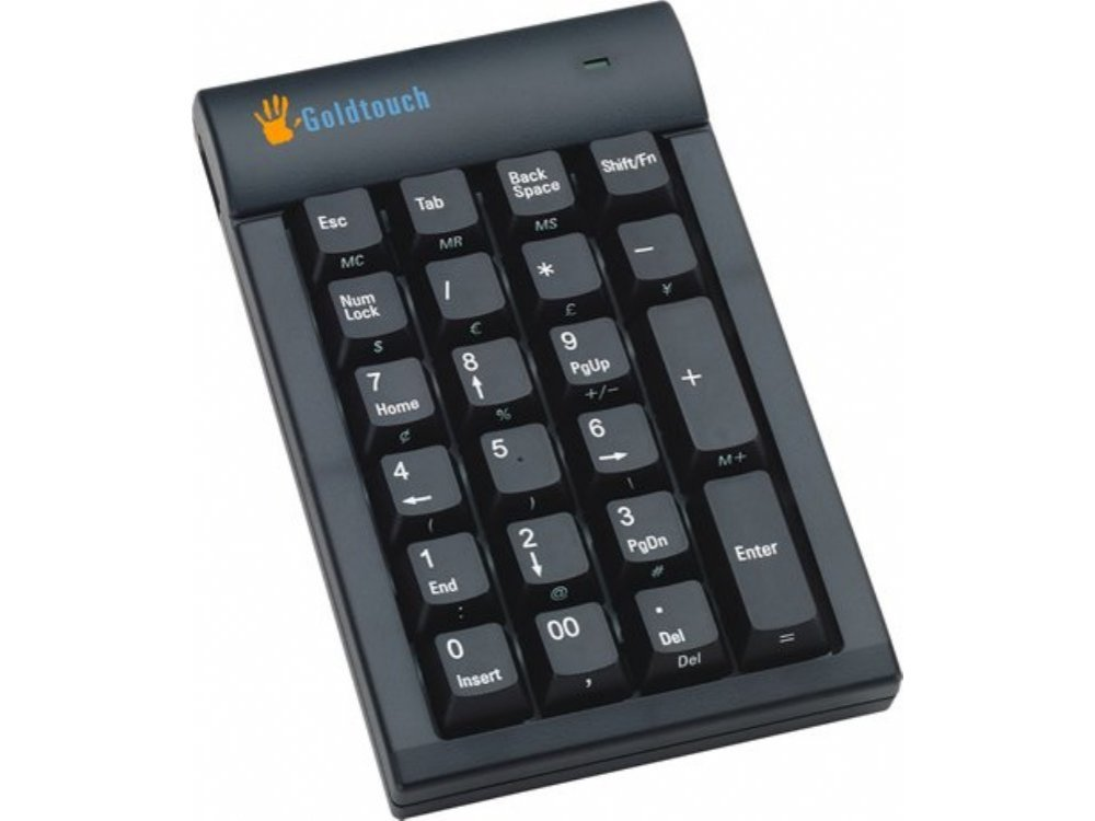 Black USB GoldTouch Hub Keypad, picture 1