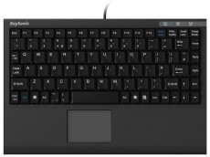 Wireless Bluetooth mini keyboard with built-in touchpad