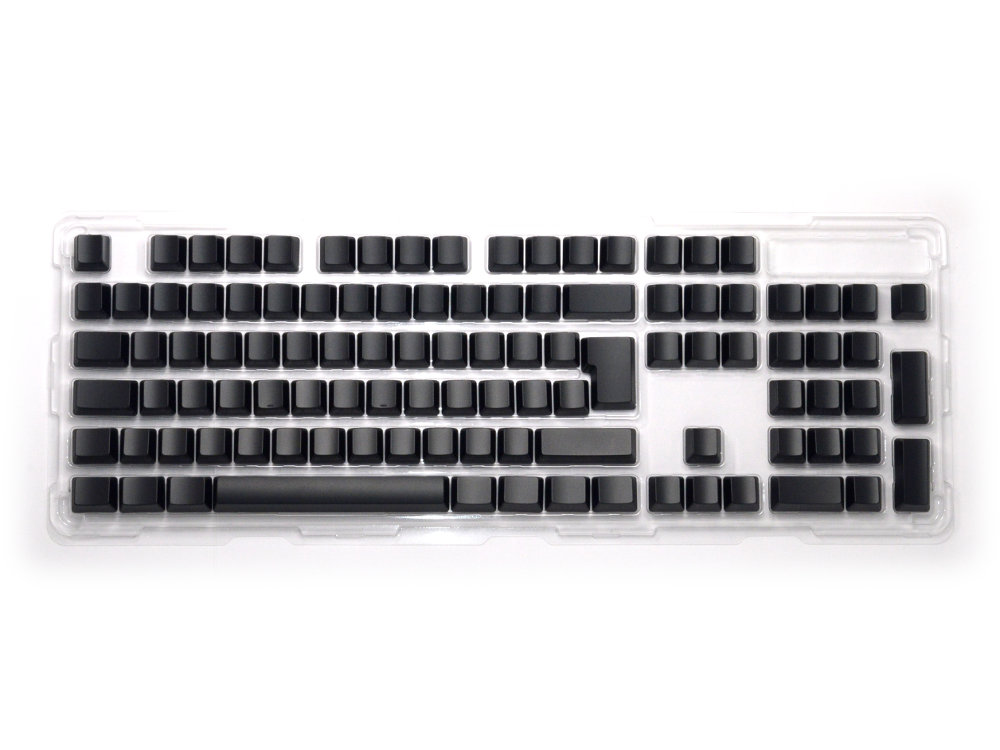 Blank Black Filco 105 Key Keyset Pack