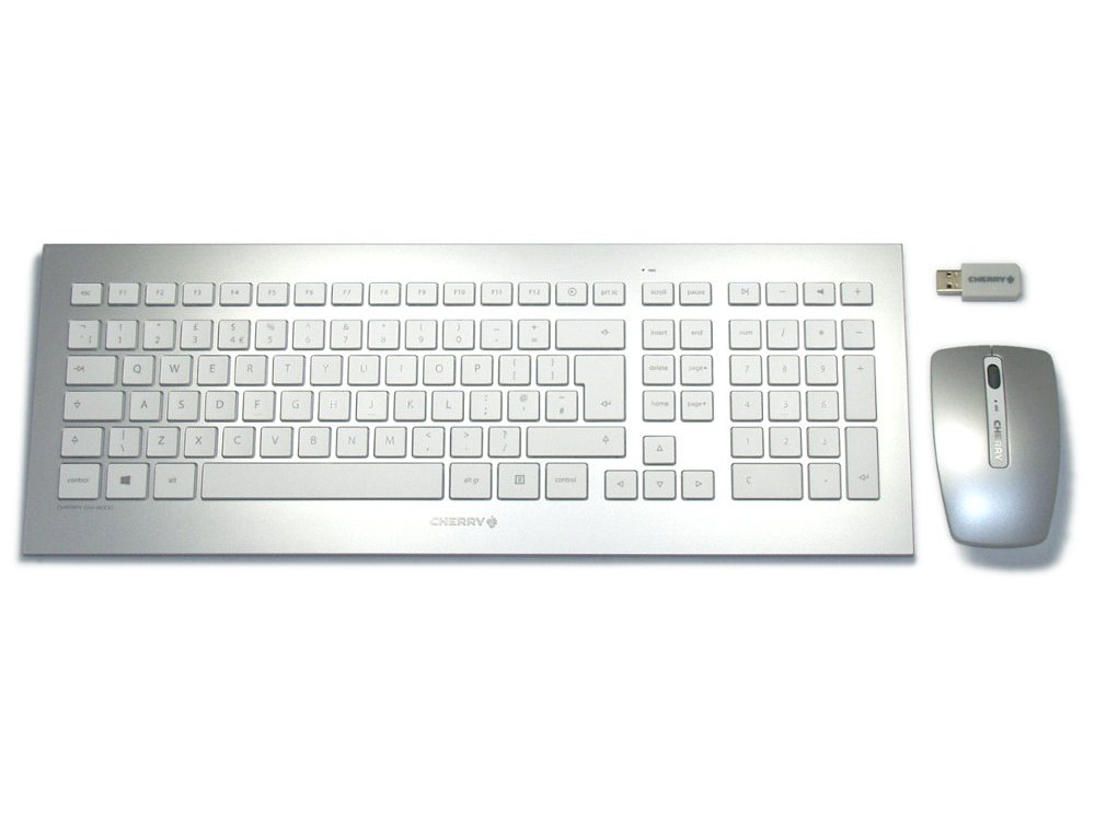 CHERRY Mac Style Wireless Keyboard and Mouse Set DW 8000, picture 1