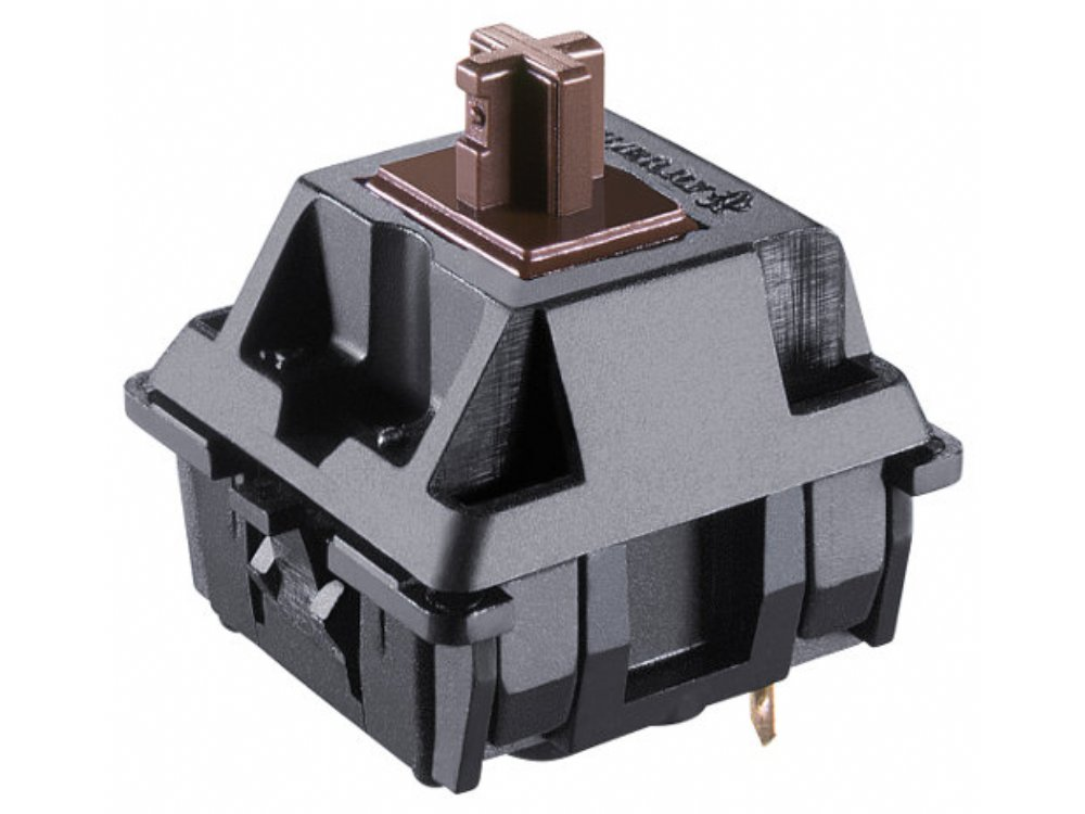 Cherry Key Switch Module, Brown, Tactile, Plate Mount