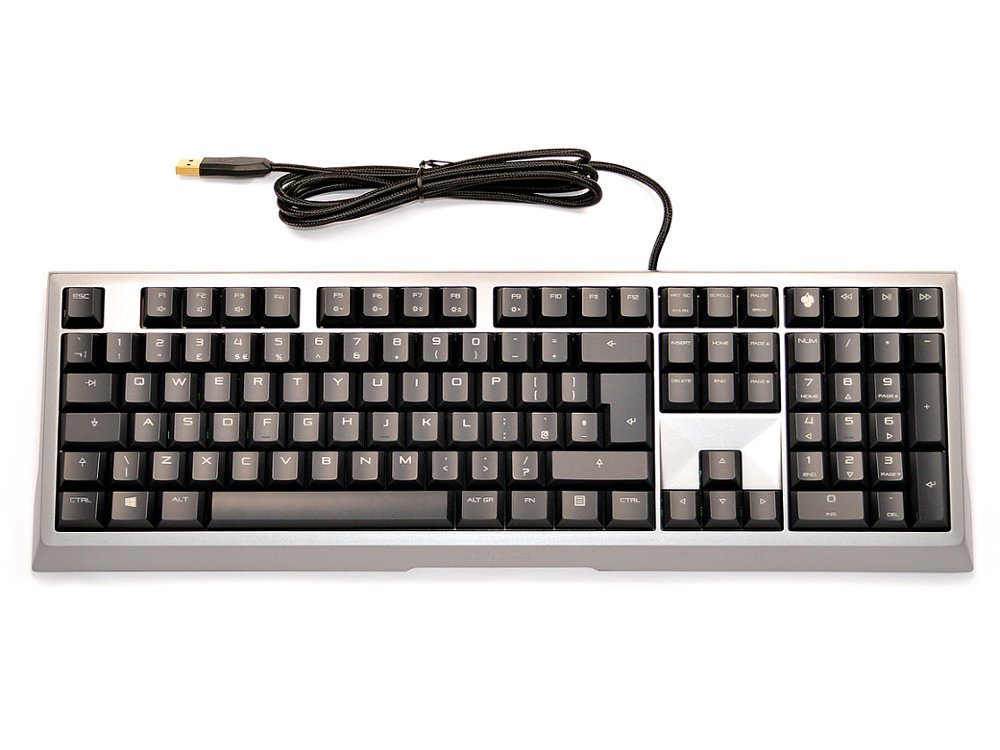 UK CHERRY MX-Board 6.0 Pro Aluminum Backlit Mechanical Keyboard, picture 1