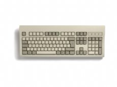 Beige USB keyboard, incorporating a PS/2 mouse port