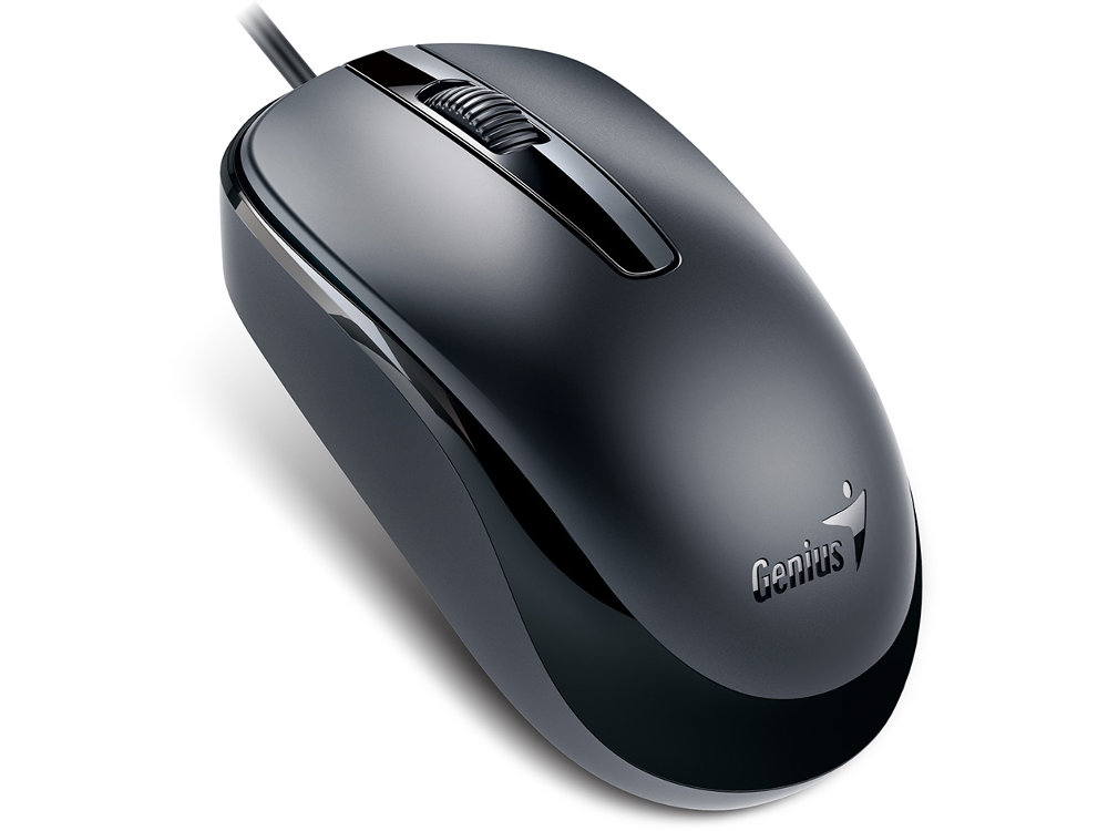 Classic Black Optical Scroll Mouse USB, picture 1