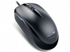 Classic Black Optical Scroll Mouse USB