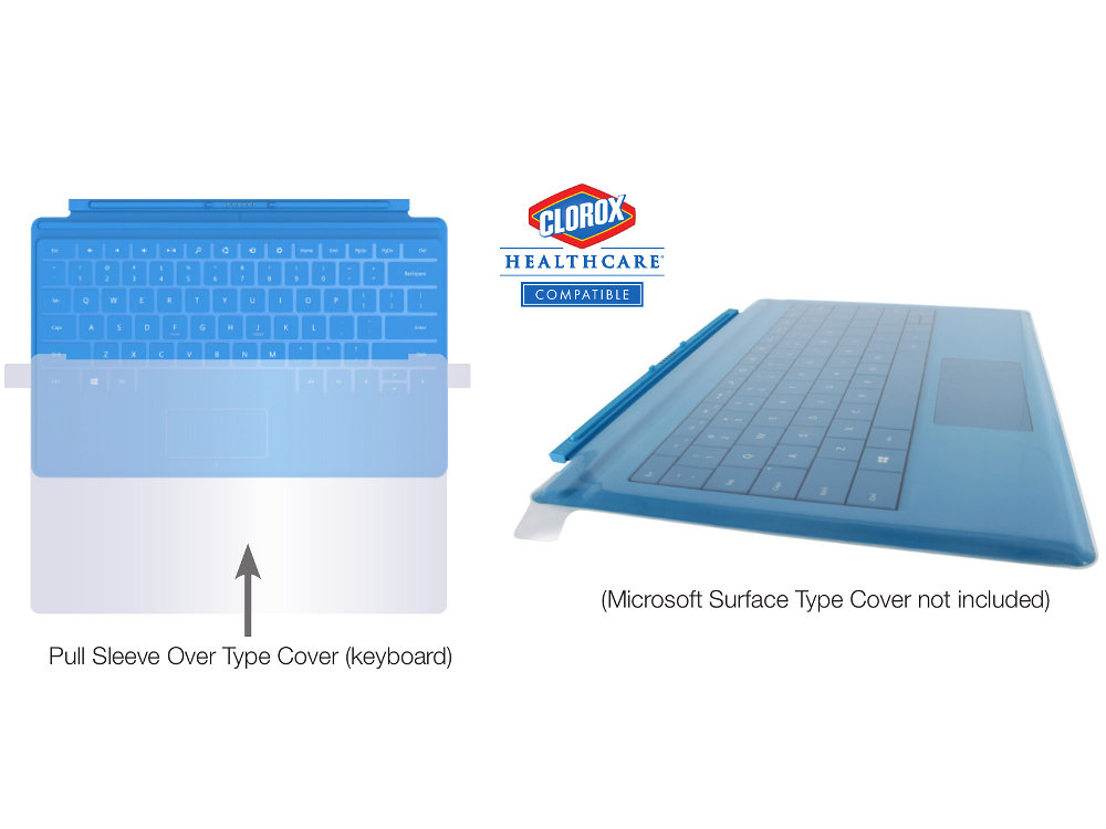 Clean Sleeve for the Surface Pro 3 and 4 Type Cover