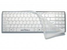 Clean Wipe Bluetooth Medical Grade Mini USA Keyboard Waterproof with Removable Cover