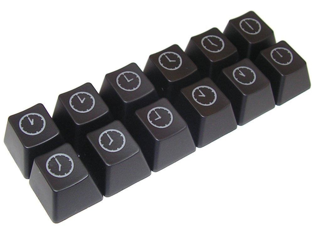 Cherry MX Clock Keycap Set