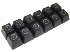 Cherry MX Clock Keycap Set