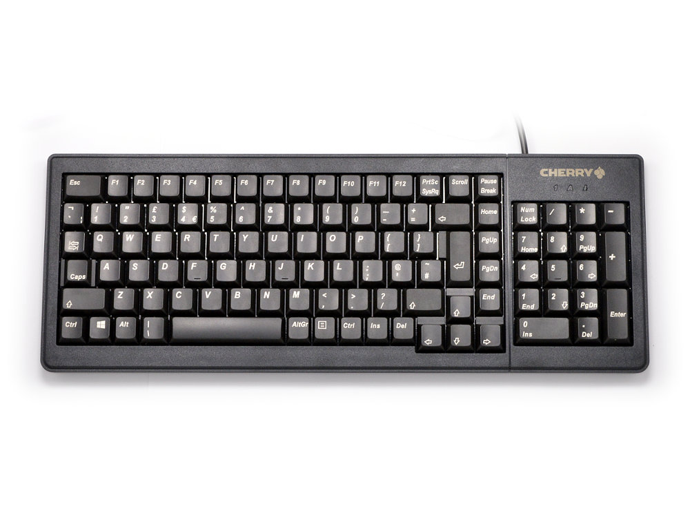 Compact Flat and Extremely Robust Linear Keyboard