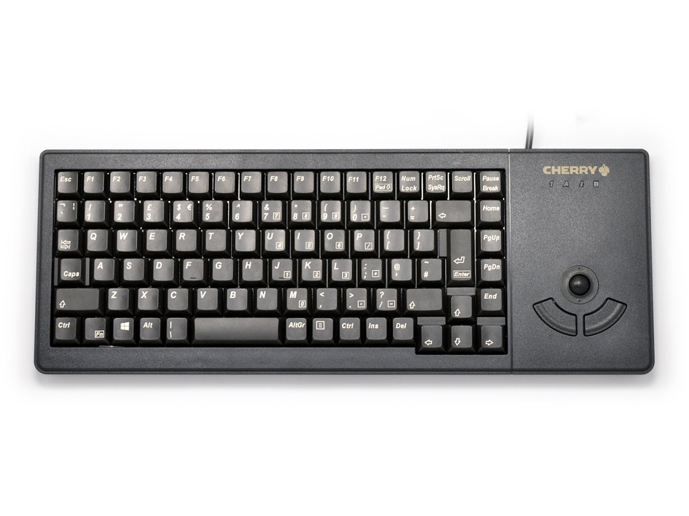 Compact Flat and Extremely Robust Linear Trackball Keyboard, picture 1