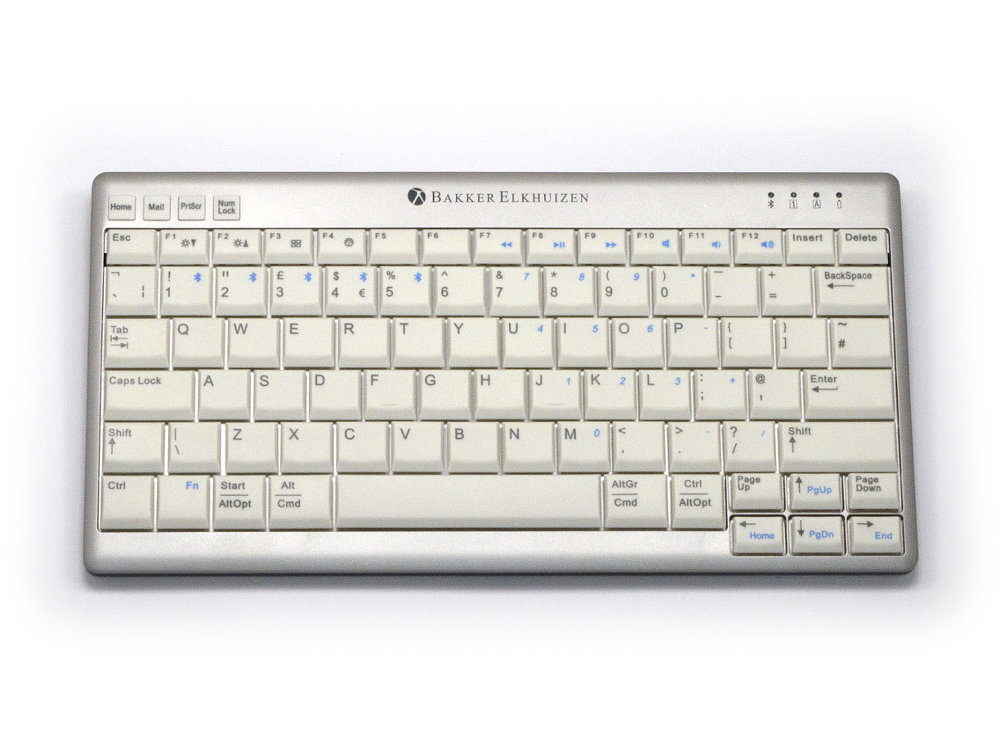 UltraBoard 940 Compact Multi Pair Bluetooth and USB Keyboard
