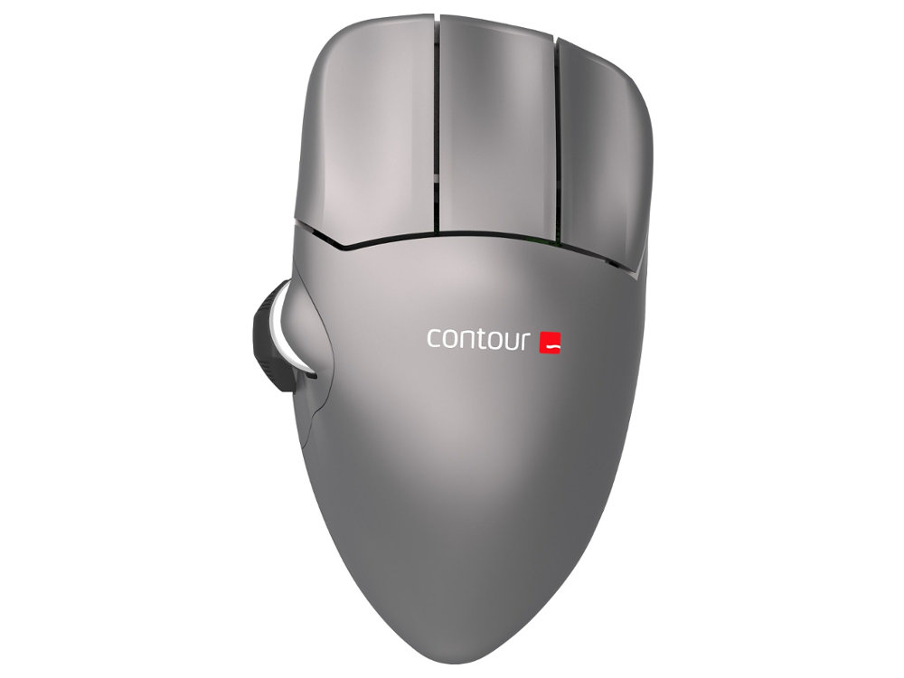 Contour Mouse Wireless Medium Right Handed Ergonomic Mouse