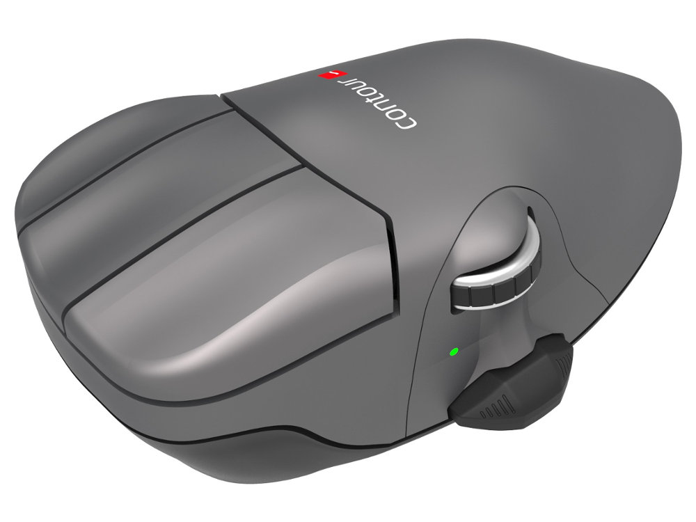 Contour Mouse Wireless Medium Right Handed Ergonomic Mouse, picture 4