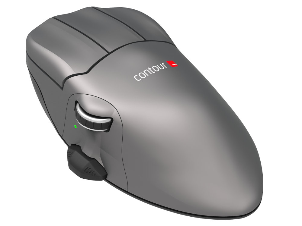 Contour Mouse Wireless Small Right Handed Ergonomic Mouse