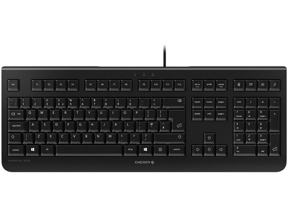 CHERRY Business Deskset Keyboard & Mouse DC 2000