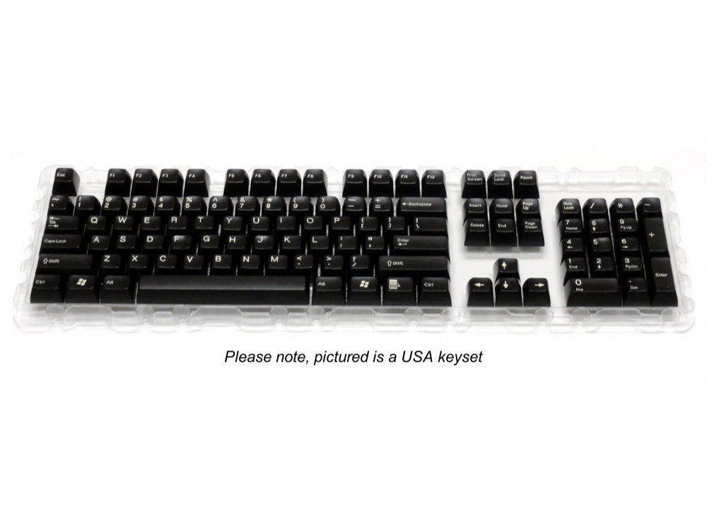 Double Shot Filco 105 Key Swedish/Finnish Keyset