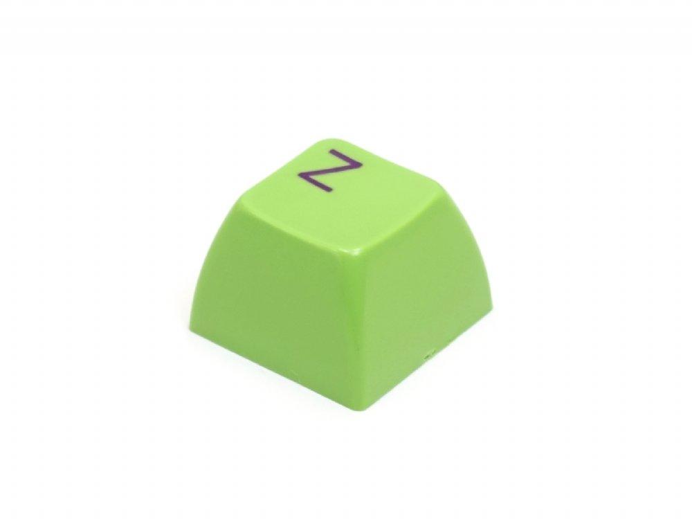 Double Shot Filco 104 Key USA Keyset, Green