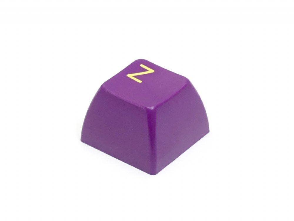 Double Shot Filco 104 Key USA Keyset, Green & Purple
