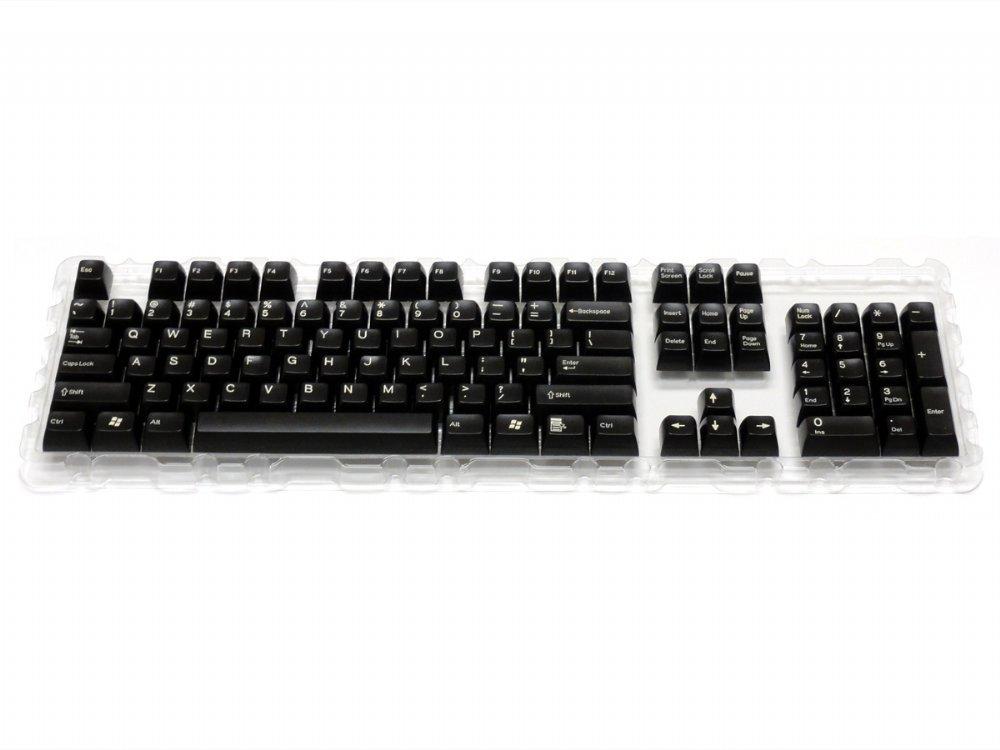 Double Shot Filco 104 Key USA Keyset : SPKCS104D : The Keyboard Company