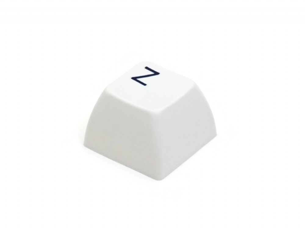 Double Shot Filco 104 Key USA Keyset, White