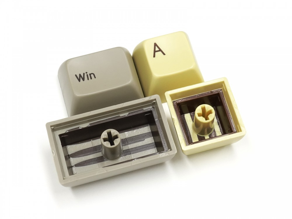 Double Shot Filco Minila USA Keyset, Chocolat & Custard