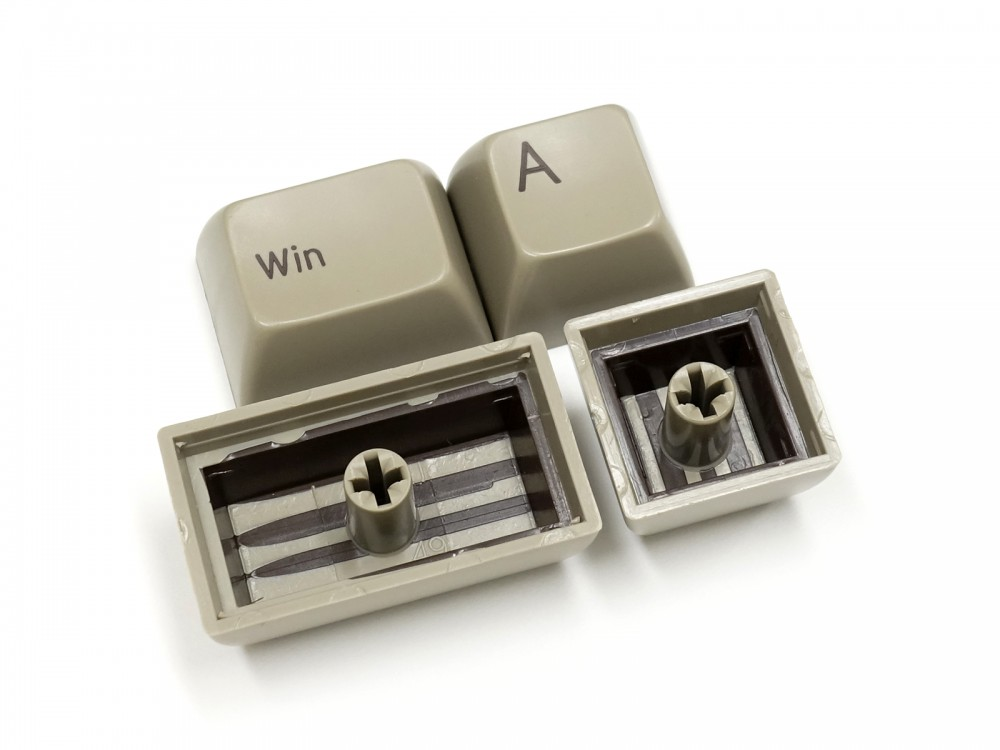 Double Shot Filco Minila USA Keyset, Chocolat