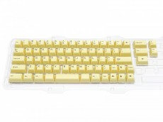Double Shot Filco Minila USA Keyset, Custard