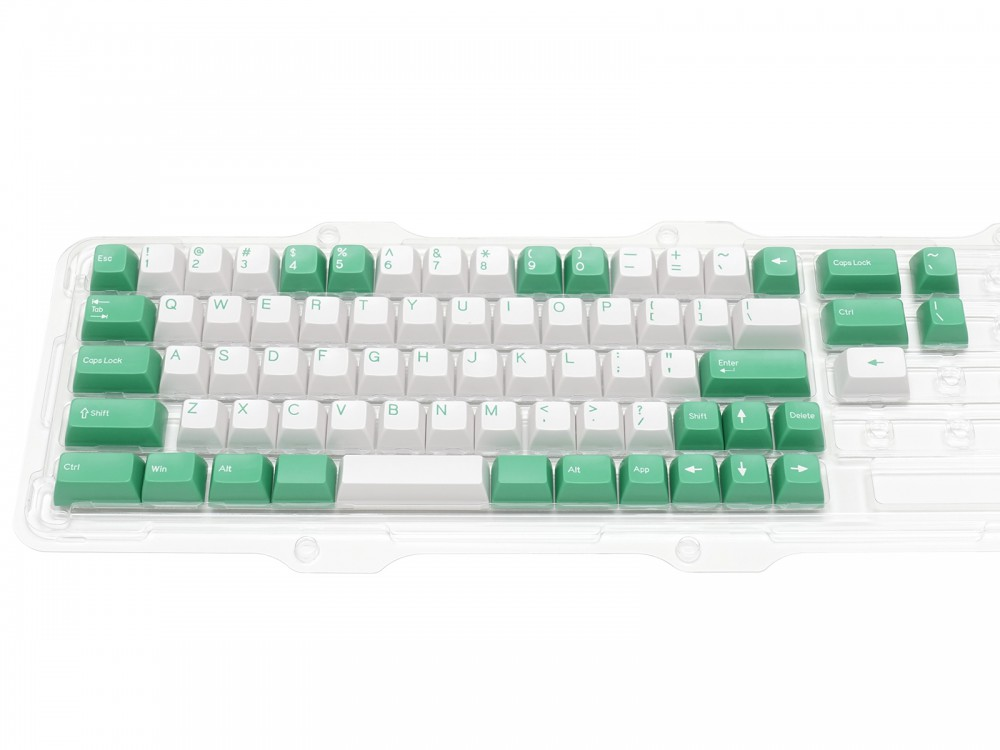 Double Shot Filco Minila USA Keyset, Mint & Sugar, picture 1