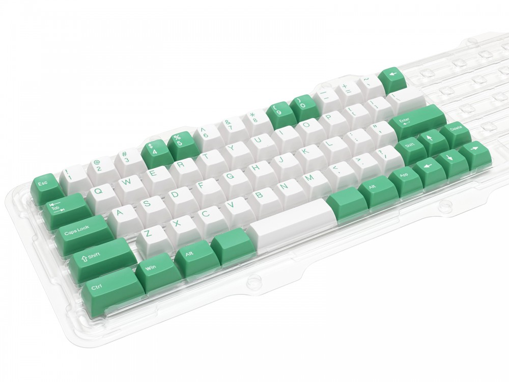 Double Shot Filco Minila USA Keyset, Mint & Sugar, picture 2