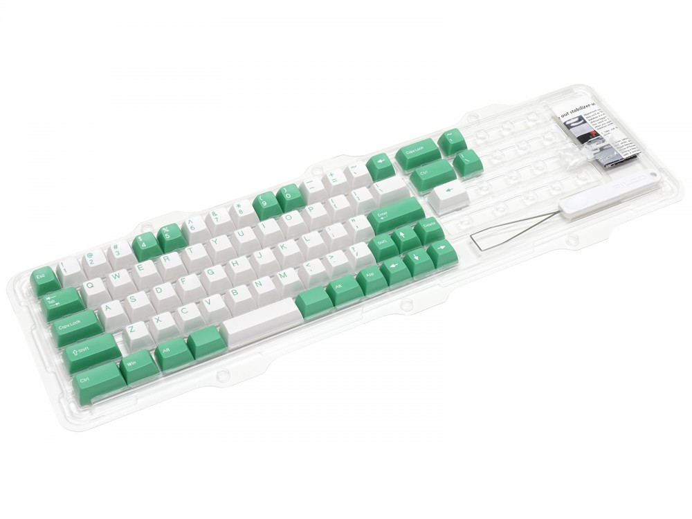 Double Shot Filco Minila USA Keyset, Mint & Sugar, picture 3