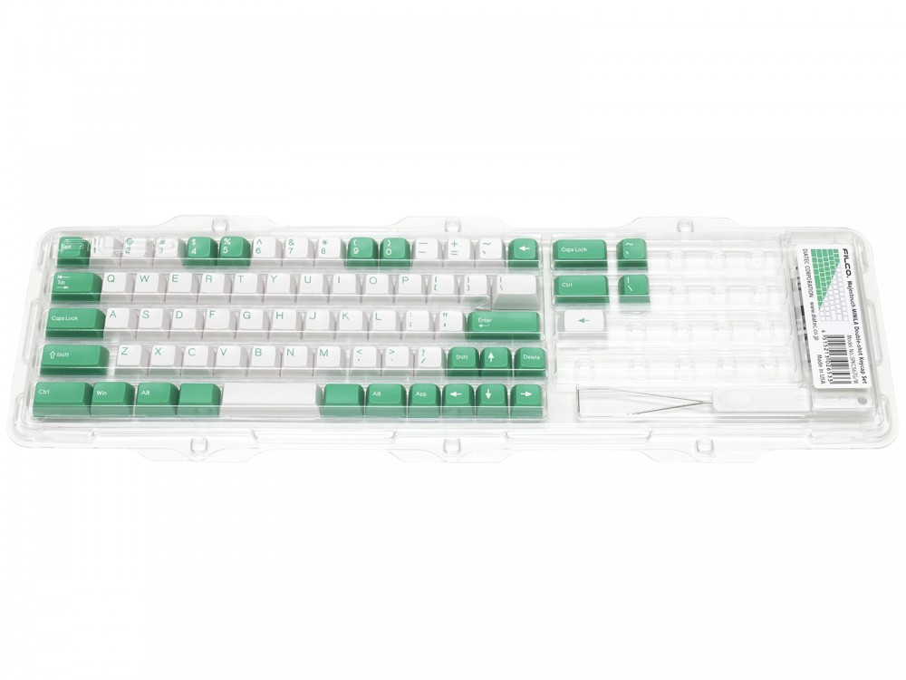 Double Shot Filco Minila USA Keyset, Mint & Sugar, picture 4