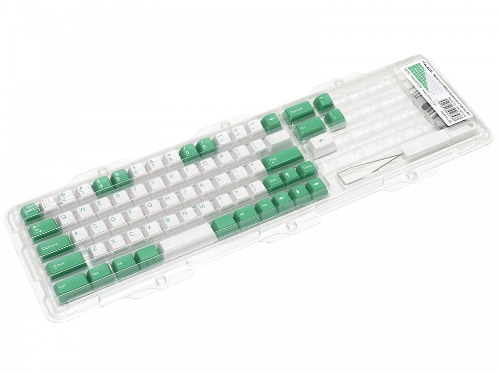 Double Shot Filco Minila USA Keyset, Mint & Sugar