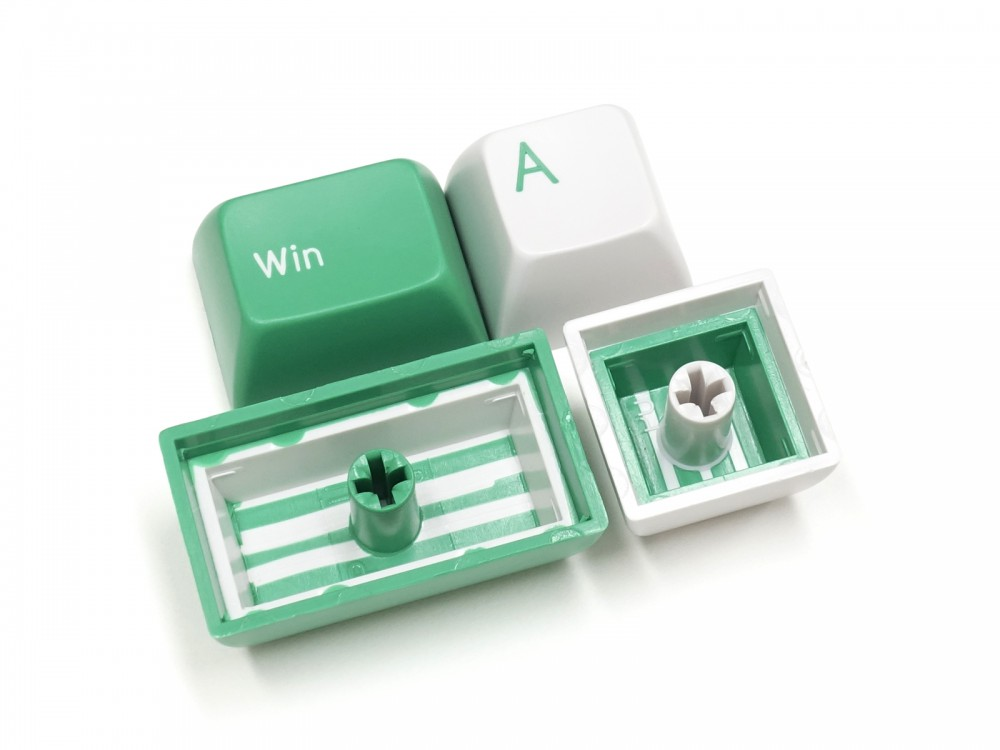 Double Shot Filco Minila USA Keyset, Mint & Sugar, picture 6