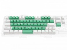 Double Shot Filco Minila USA Keyset, Sugar & Mint