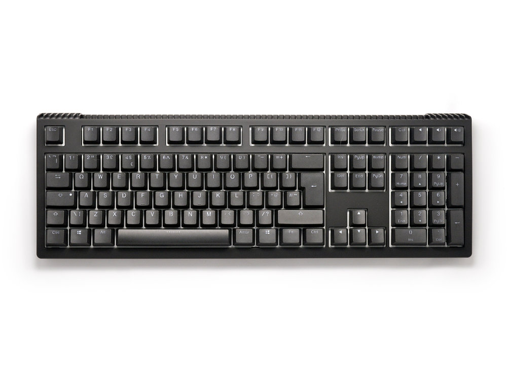 UK Ducky Shine 6 RGB Backlit Tactile Action Keyboard