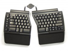 USA ergo pro programmable Ergonomic PC Keyboard
