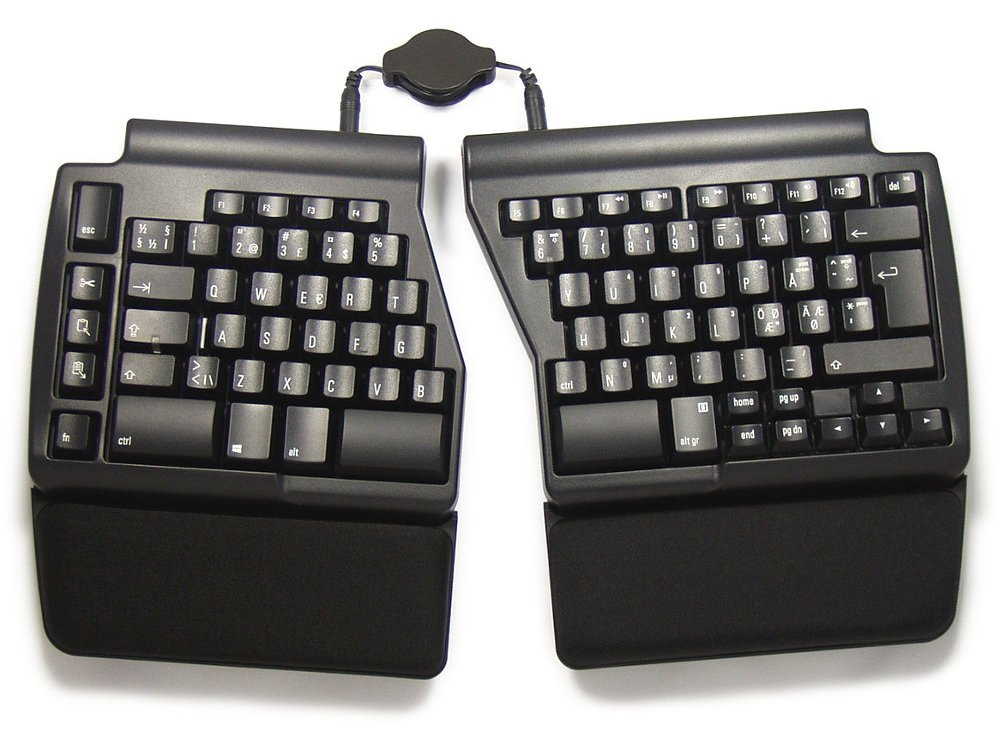 Nordic Ergo Pro Quiet PC Ergonomic Keyboard