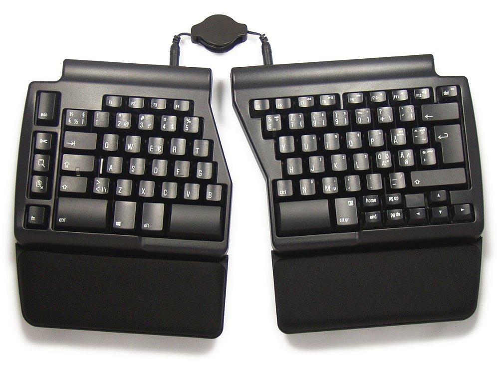 Nordic Ergo Pro Quiet PC Ergonomic Keyboard