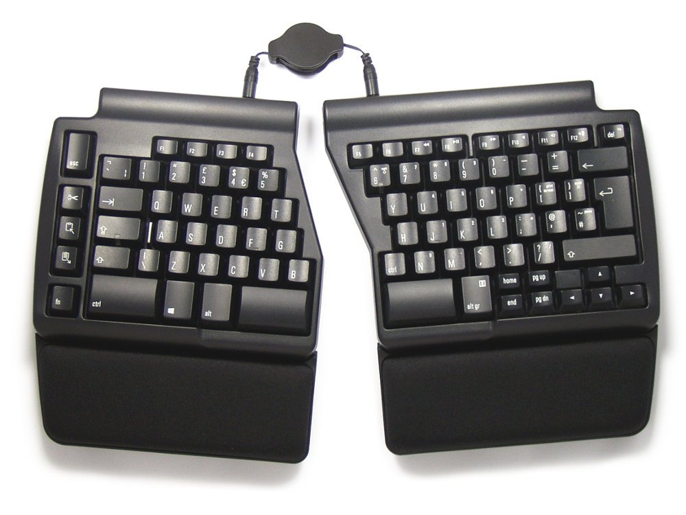 UK Ergo Pro Quiet PC Ergonomic Keyboard