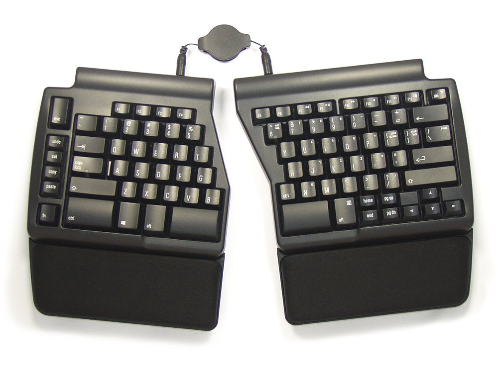 USA Ergo Pro Low Force PC Ergonomic Keyboard