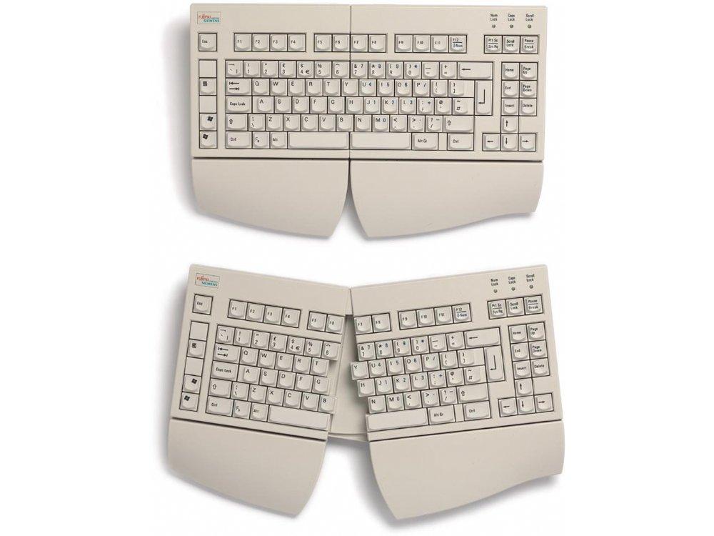 Fully Adjustable Split-Keyfield Ergonomic RSI Keyboard