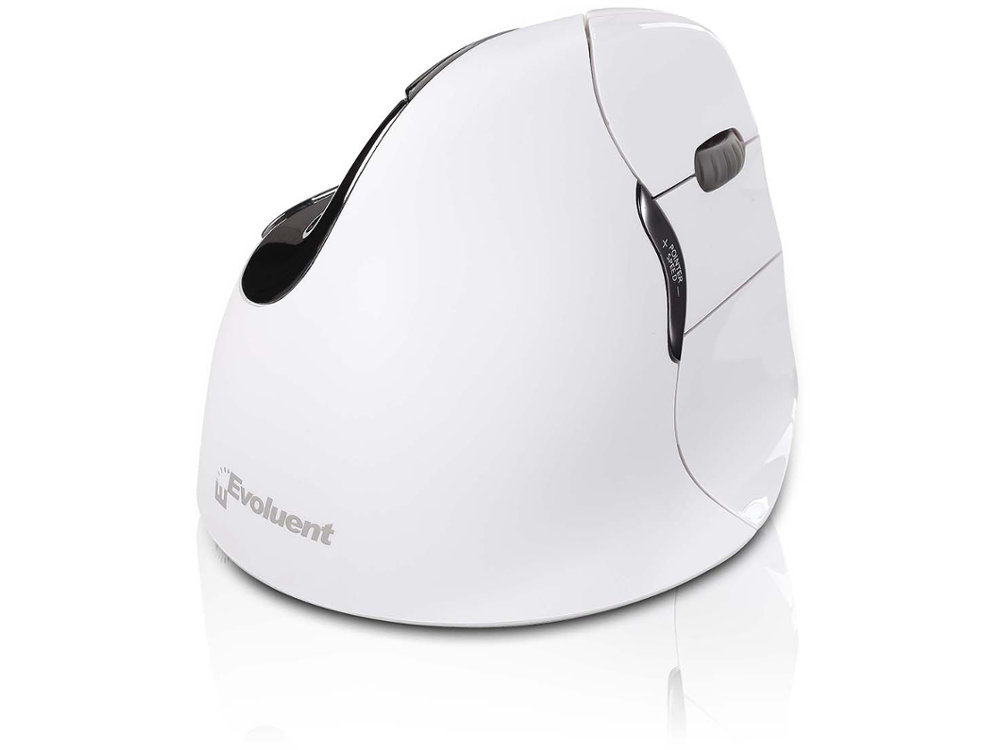 Evoluent Vertical Mouse Bluetooth Right Handed White, picture 1