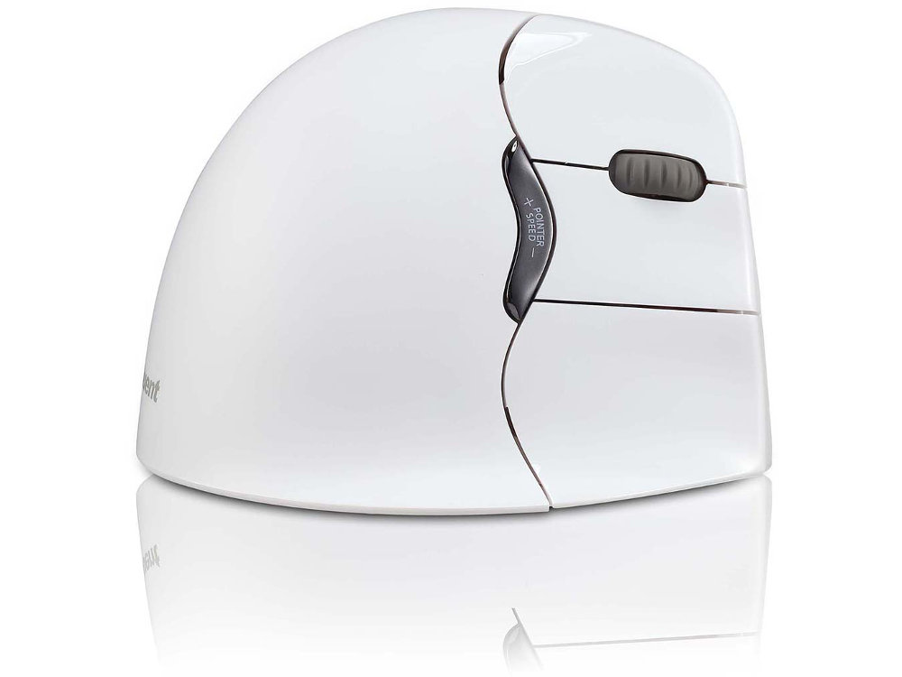 Evoluent Vertical Mouse Bluetooth Right Handed White, picture 2