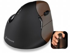 Evoluent VerticalMouse 4, Small Right Handed, Laser, Wireless