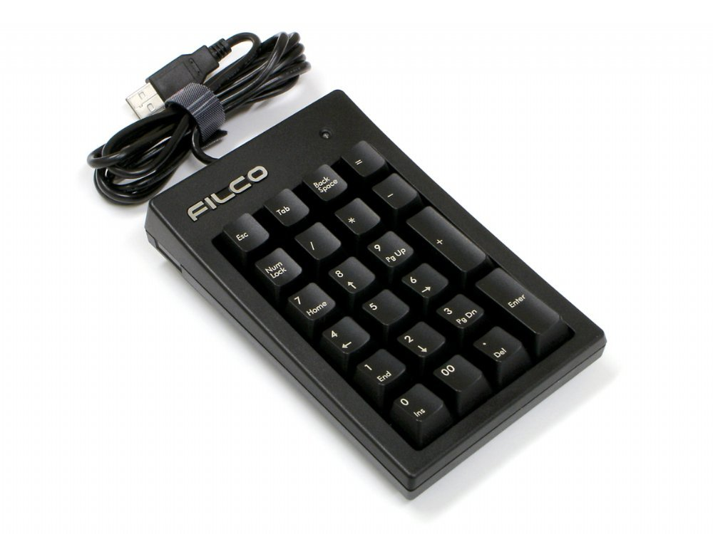 Filco Majestouch Tenkeypad Mx Brown Tactile Numberpad