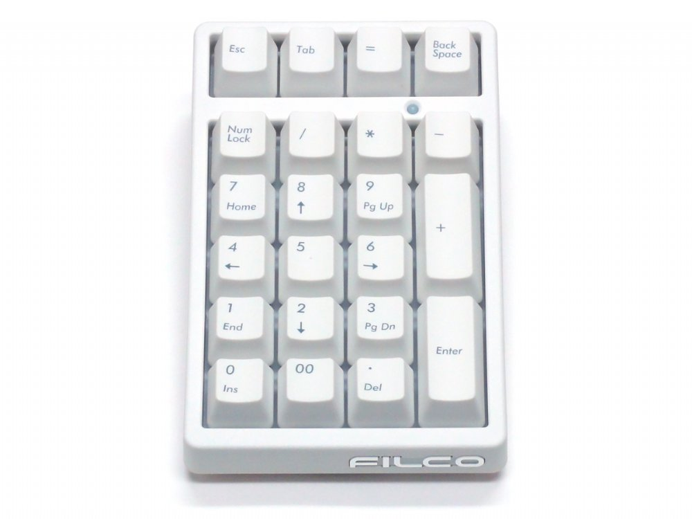 Filco Majestouch TenKeyPad 2 Professional MX Brown Tactile Numberpad Matte White