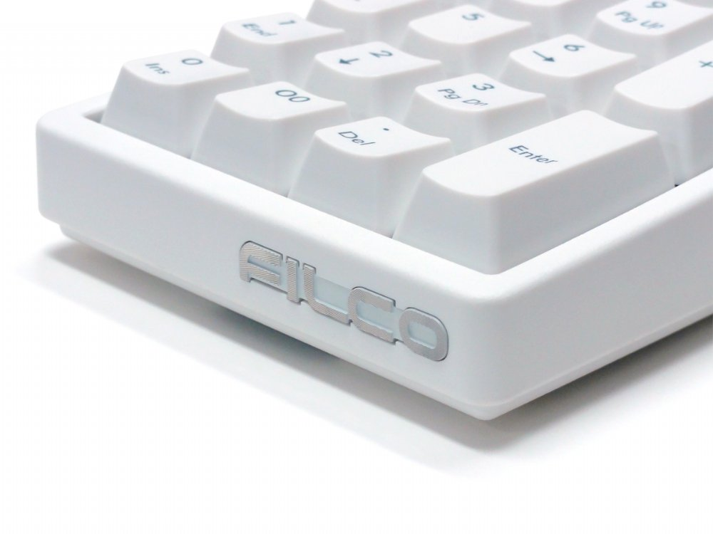 Filco Majestouch TenKeyPad 2 Professional Tactile Action Numberpad Matte White