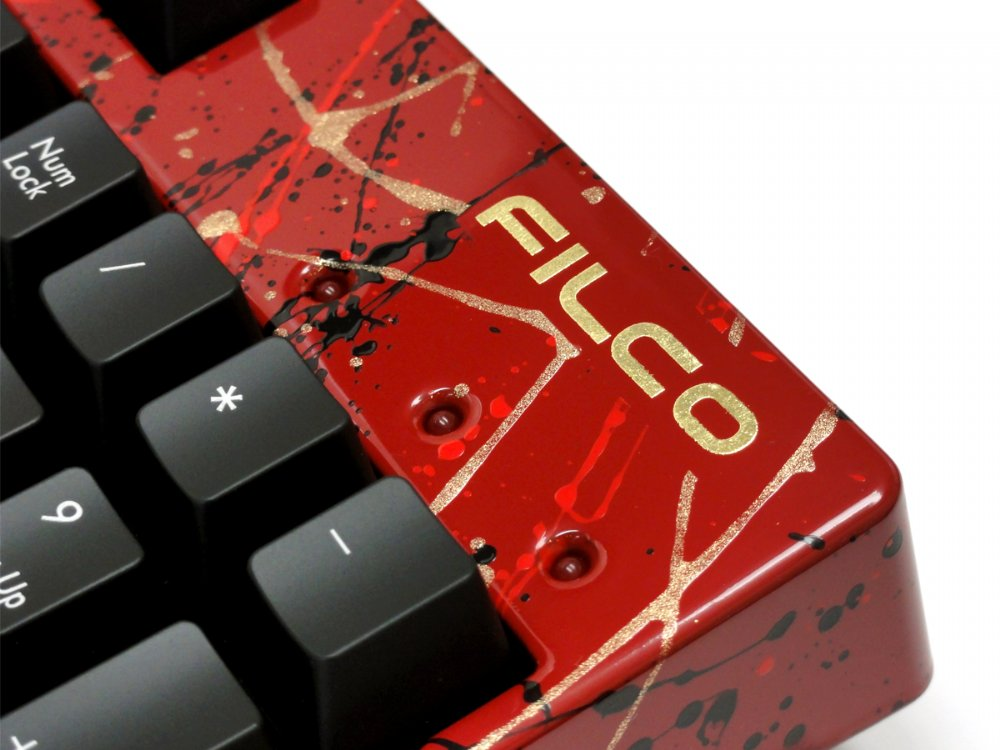 Filco KOBO Vermillion Lacquer with Red, Black and Gold Full Size Cover/Fascia